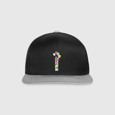 letter The birthday balloons - Snapback Cap