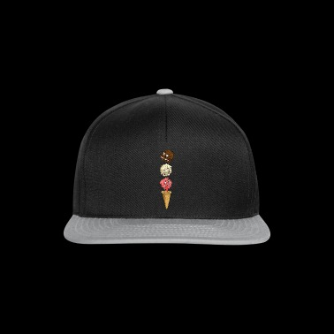 Monster Eis - Snapback Cap