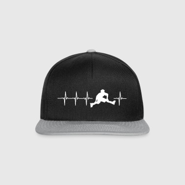 I love roller (heartbeat patin) - Casquette snapback