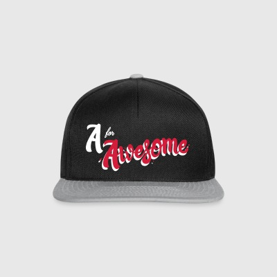 A for Awesome - Snapback Cap