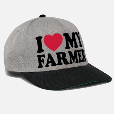 I love my farmer - Gorra snapback