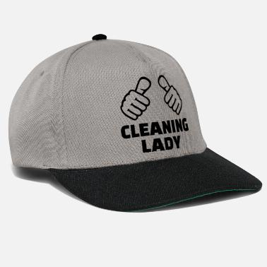 Cleaning Lady Cleaning lady - Snapback Cap