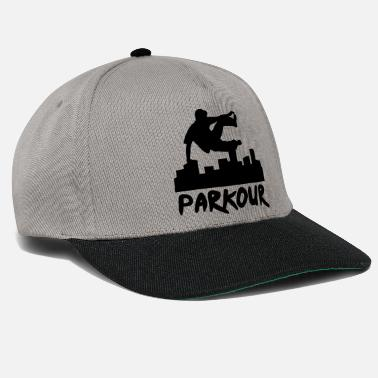 Running Free running in the city, parkour - Snapback cap