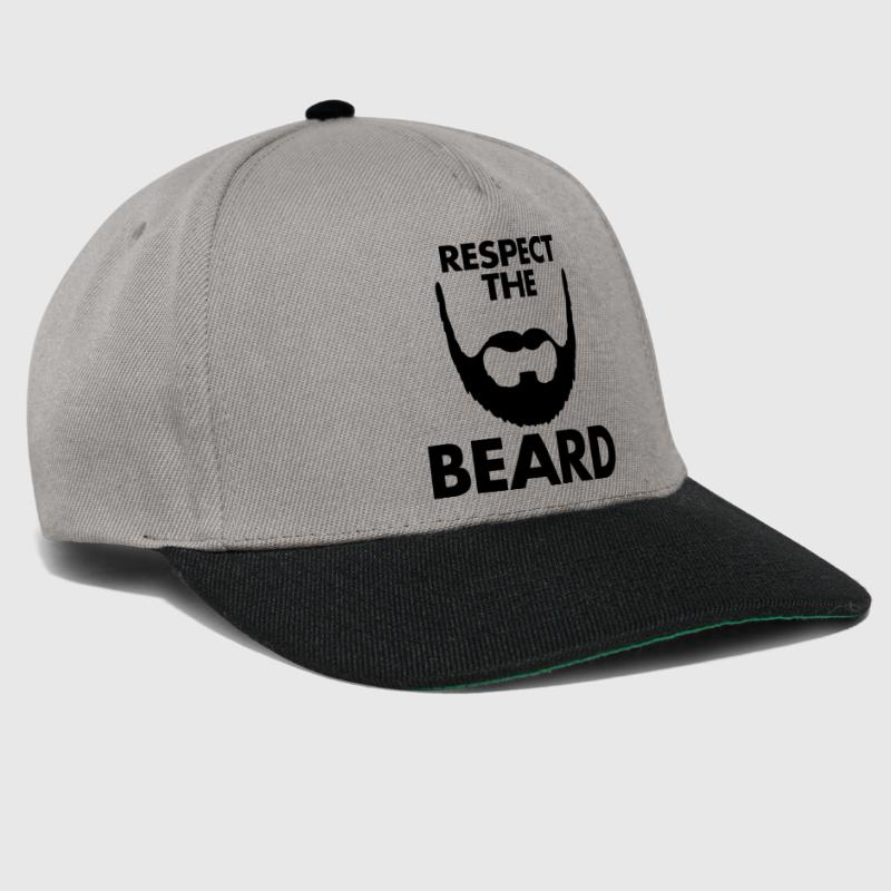 Respect The Beard - Snapback Cap