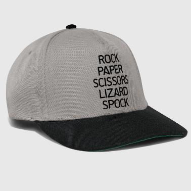 Rock, Paper, Scissors - Snapback Cap