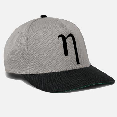 Greek Letters eta Greek letter - Snapback Cap