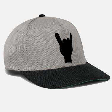 Rock and roll mano de - Cappello snapback