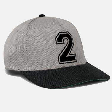 Ballon Numero 2 | Foot Team honkbal| college basketbal - Snapback cap