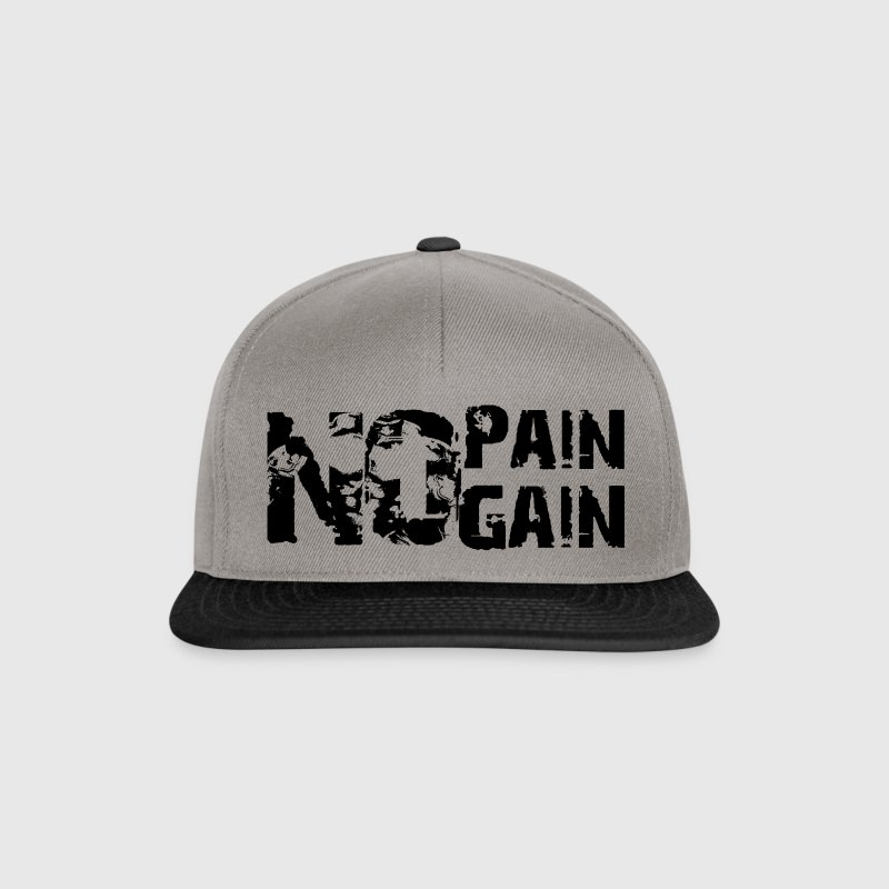 No Pain No Gain - Gorra Snapback
