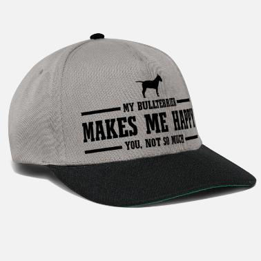 Staffordshire BULLTERRIER makes me happy - Snapback Cap