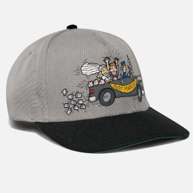 Lune Lune de miel Just Married - Casquette snapback