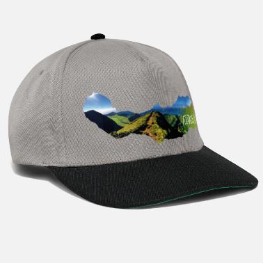Portuguese Azores Boca do Inferno Azores Portugal views - Snapback Cap