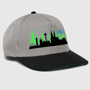 Cologne silhouette Soundwave- green - Snapback Cap