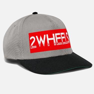 two wheels print - Snapback Cap