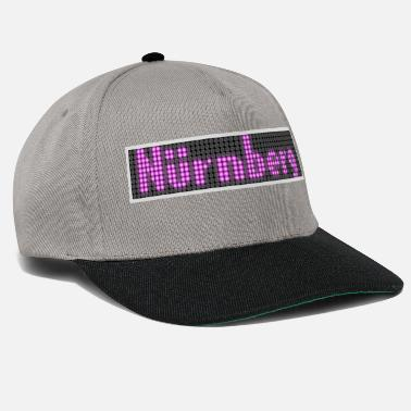 Display Nuernberg LED Display Pink - Snapback keps
