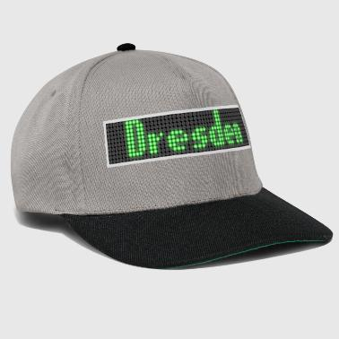 Display Dresden LED Display Grøn - Snapback Cap