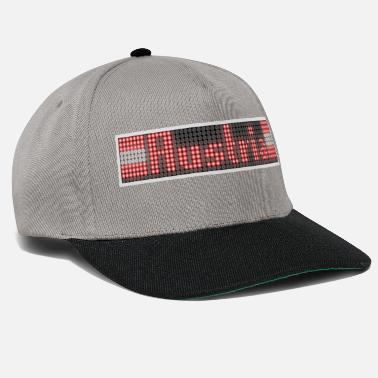 Advert Austria plus flag LED display - Snapback Cap