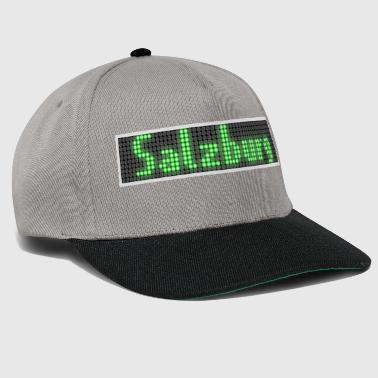 Salzburg LED-display groen - Snapback cap