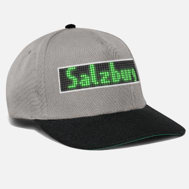 Display Salzburg LED Display grön - Snapback keps