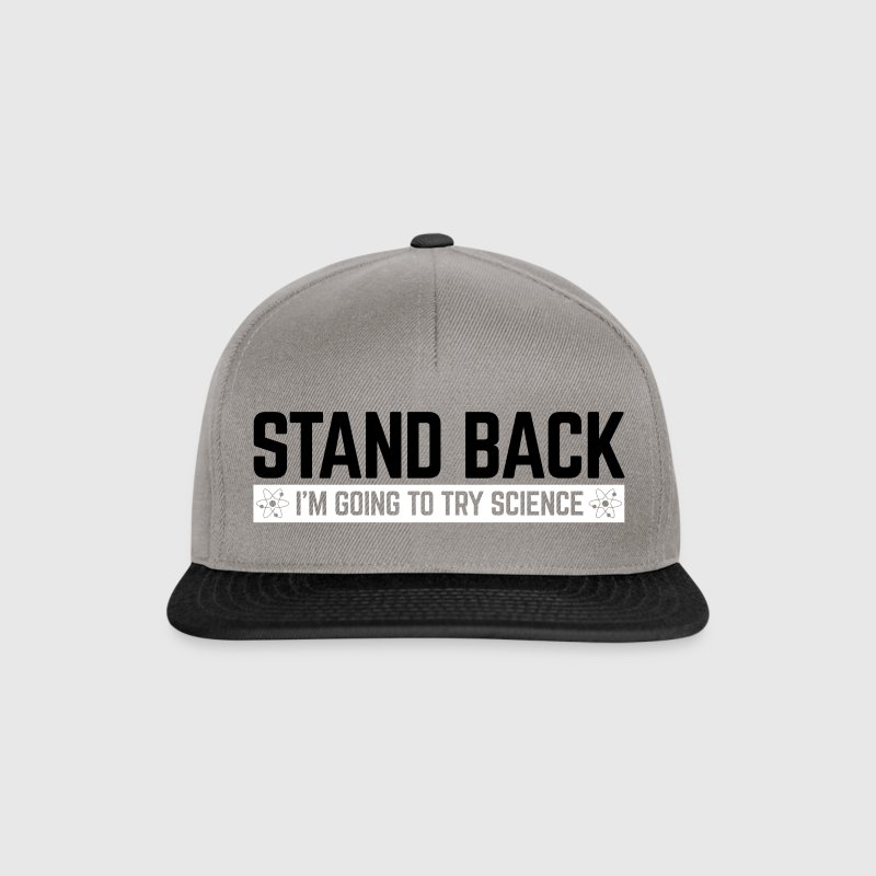Stand Back Science  - Snapback Cap