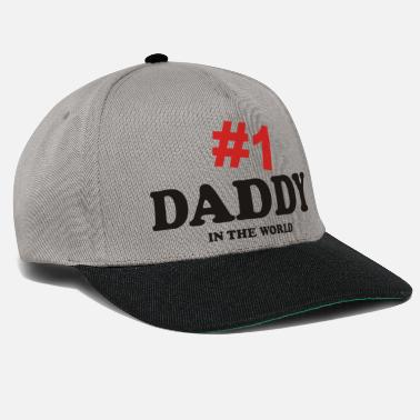 no 1 daddy in the world - Snapback Cap