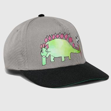 Evergreen Football Dino: Evergreen Stego par Hey Kids! - Casquette snapback