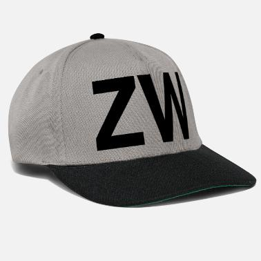 Initial ZW Initiales - Casquette snapback