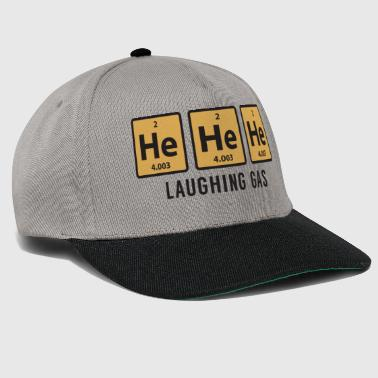 Science Chemical Er He er lacht Gas lustiges Geschenk - Snapback Cap
