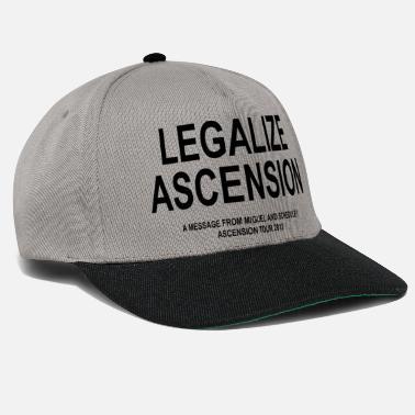 f80ee35c832 Ascension Of Christ Legalize Ascension Graphic - Snapback Cap