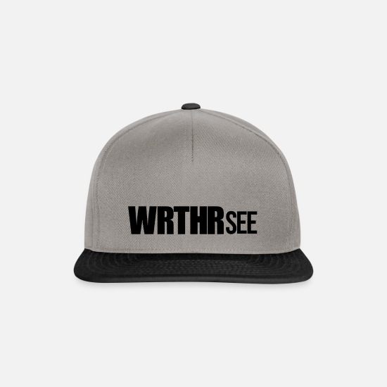 Carinthia Caps & Hats - WRTHRSee - Wörthersee GTI meeting - black - Snapback Cap graphite/black