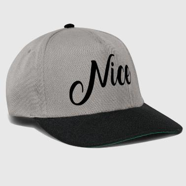 Nice - Casquette snapback