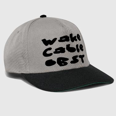 Wake Cable Obst Wakeboard - Snapback Cap