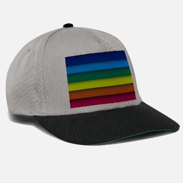 Pride Gay pride stripes rainbow - Snapback Cap