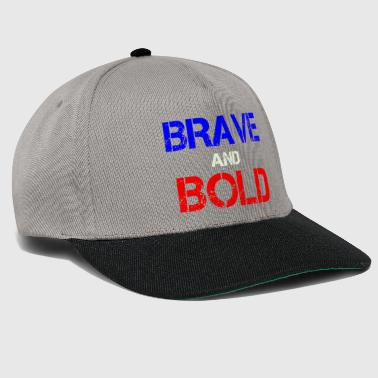 Brave and Bold - Snapback Cap