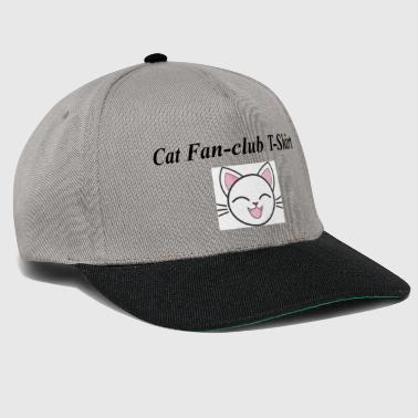 Cat Fan-club T-Shirt - Snapback Cap
