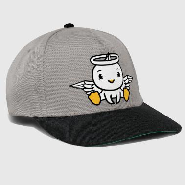 duck bird chick angel sky sitting dead in death - Snapback Cap