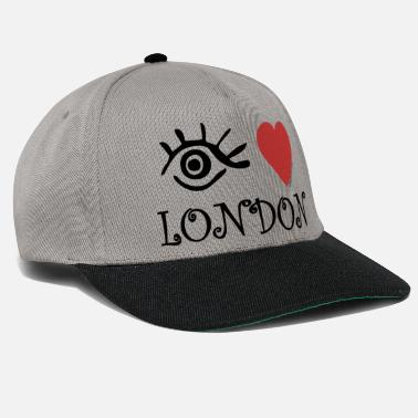 London Eye-Love London - Snapback keps