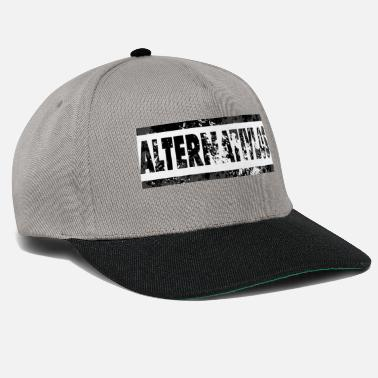 Alternativa Nero alternativo - Cappello snapback