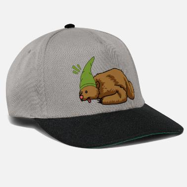 Fairy Tail Teddy bear animals hibernating child winter fantasy - Snapback Cap