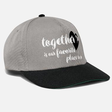 Together is our favorite place to be - horse - Snapback Cap