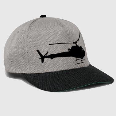 Helicopter Helicopter fly gift idea fast - Snapback Cap