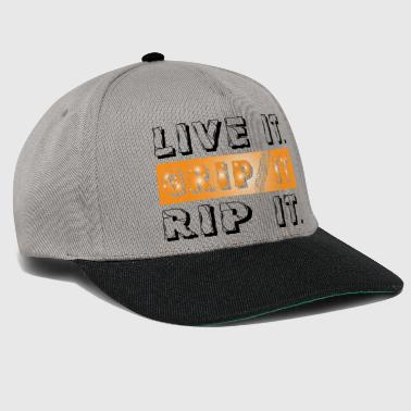 Grip It Dirt Bike - Snapback Cap