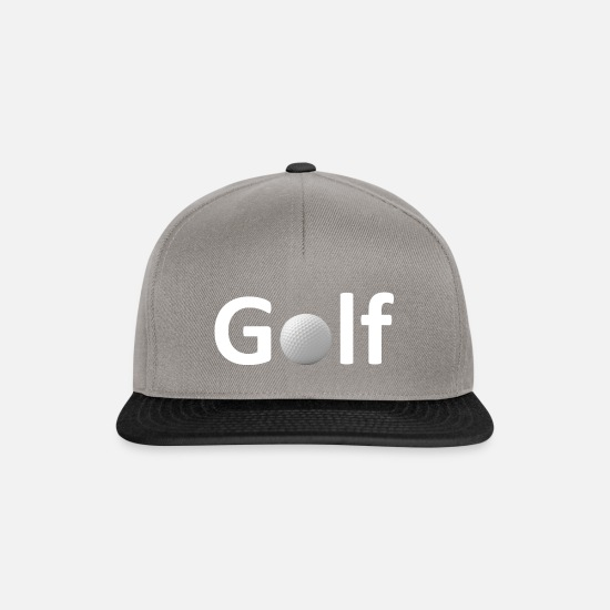 Birdie Caps & Hats - Golf ball - Snapback Cap graphite/black