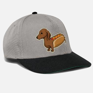 Drôles Hot-Dog Dog - Casquette snapback