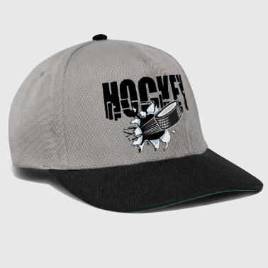HOCKEY PUCK - Snapback Cap