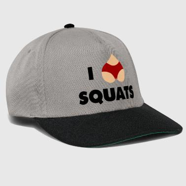Squat squats - Snapback Cap