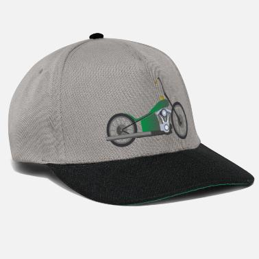 Chopper Green Chopper - Snapback Cap