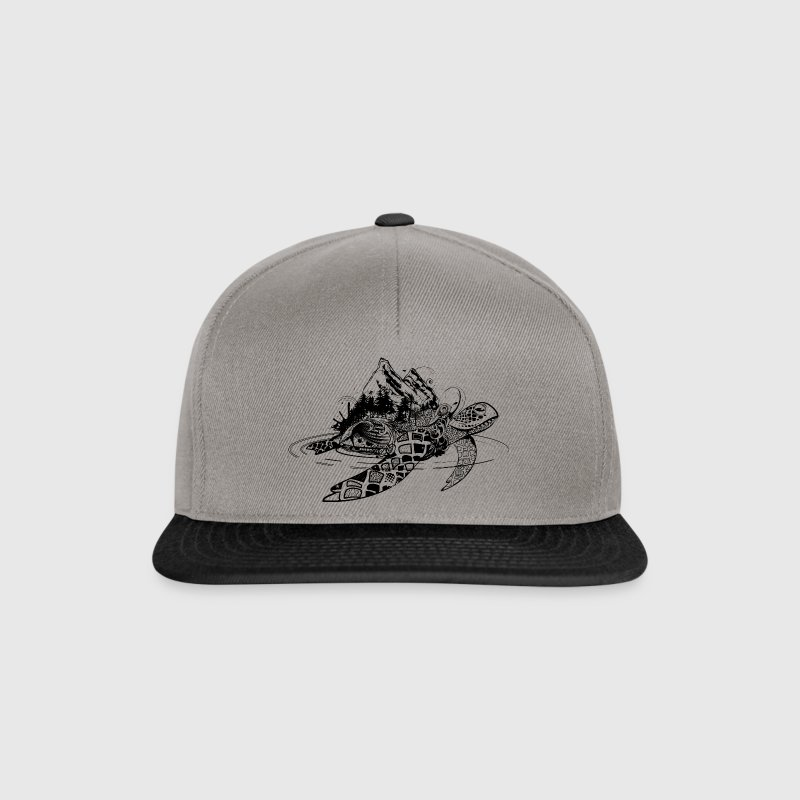 Surreal tortues de mer - Casquette snapback