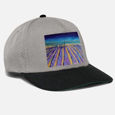 Provence Lavender fields in Provence - Snapback Cap
