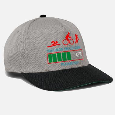 Biking Triathlon Swim Bike Run - Snapback Cap